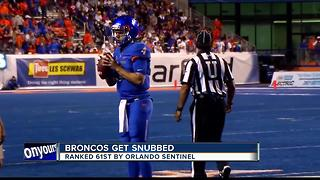 Broncos get snubbed in preseason ranking - Video