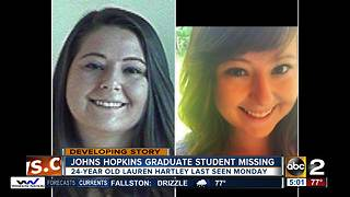 Johns Hopkins graduate student missing - Video