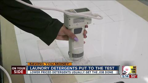 Laundry detergents put to the test