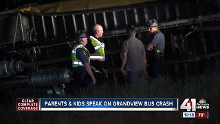 Teammates recall terrifying moments of Grandview school bus crash - Video