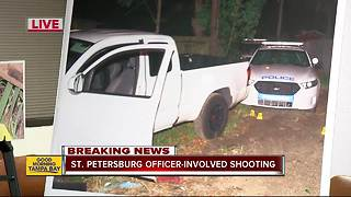Suspect dies after shootout with St. Pete Police - Video