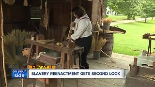 Slavery reenactment gets second look - Video