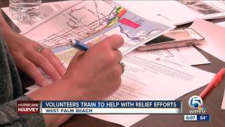 Volunteers train to help with relief efforts - Video
