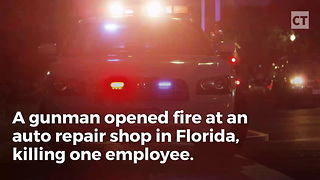 Thug Shoots up Repair Shop, But These Guys Had a Classic Blue-Collar Response
