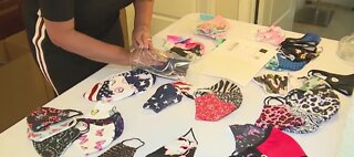 Local woman creates successful mask business