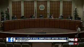 LCSD couple still employed - Video