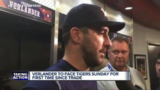 Justin Verlander to face Tigers for first time since trade - Video