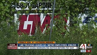 LME Trucking abruptly closes; KC employees left without jobs, pay