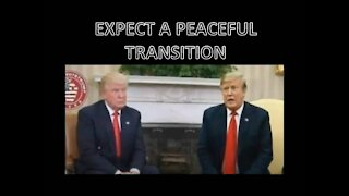EXPECT A PEACEFUL TRANSITION