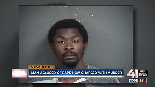 Accused rapist now charged in KCK woman's death - Video