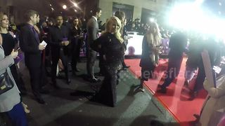 Heavily pregnant Katie Piper arrives at Pride of Britain Awards - Video