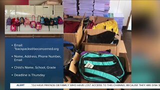 Annual NKY nonprofit's backpack giveaway still on, but looks a little different
