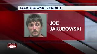 Jury convicts Joseph Jakubowski on a federal weapons charge - Video