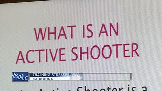 Cops train neighbors on active shooter response - Video