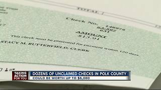 More than $30K in unclaimed funds to be returned to owners - Video
