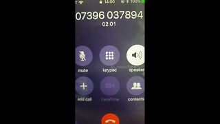 A novel way to handle cold callers - Video