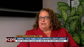 Family of 8-year-old suicide victim sues school leaders - Video