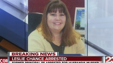 Leslie Chance re-arrested