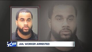 Cuyahoga County Jail corrections officer arrested