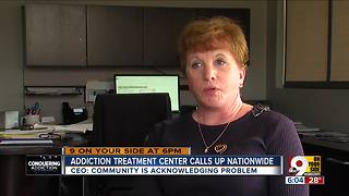 Addiction treatment center calls up nationwide - Video