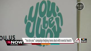 'You Be You' campaign helps teens deal with mental health