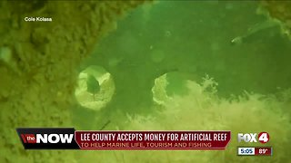 Artificial reef to be placed in the Gulf to help marine life