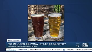 We're Open, Arizona: State 48 Brewery reopening with a smile