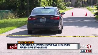 Deputies search for shooting suspect - Video