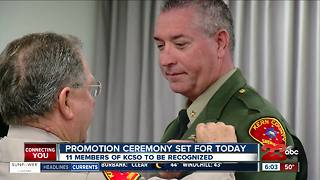 KCSO promotion ceremony scheduled for today - Video