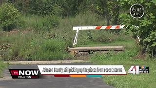 Johnson County looks to feds for storm repair funding - Video