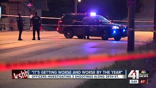Residents along 39th Street concerned after weekend violence