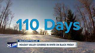 Holiday valley open for the season - Video