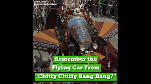 "Remember the Flying Car From ""Chitty Chitty Bang Bang?"""