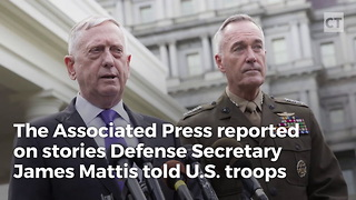 Mattis War Stories Carry a Message - Video