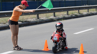 4-Year-Old Biker Has Insane Motorcycle Skills - Video