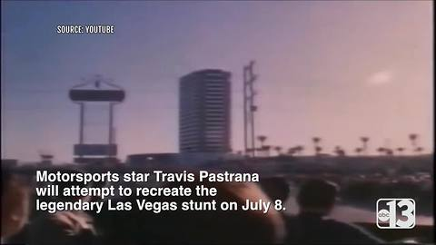 Evel Knievel's jump over Caesars Palace fountains to be attempted by Travis Pastrana