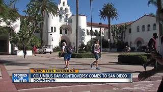 Columbus Day controversy comes to San Diego - Video