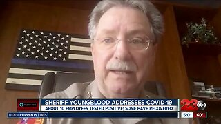 Sheriff talks about COVID-19