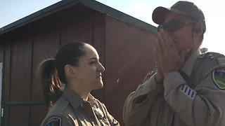 Sheriff's Deputy Has Emotional Reaction to Seeing in Color for the First Time - Video