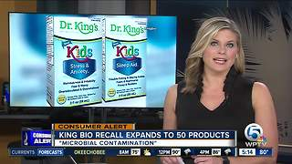 King Bio adds more than 50 adult products to national recall - Video