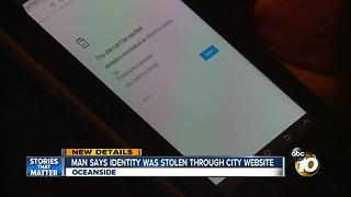 Oceanside residents warn of utility payment website breach - Video