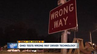 Technology in Columbus to help prevent wrong-way crashes - Video