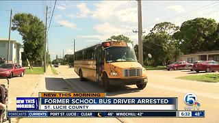 Former St. Lucie County school bus driver accused of inappropriately touching child - Video