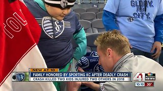 Sporting KC reaches out to family recovering from tragedy