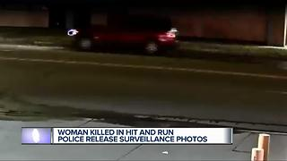 Woman killed in hit and run, police release surveillance photos - Video