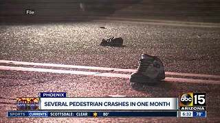 Woman hit and killed while crossing mid-block in Phoenix - Video