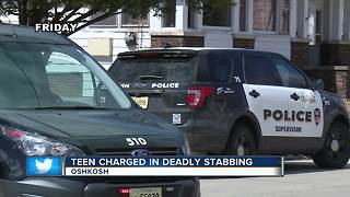 17-year-old charged with homicide in Oshkosh stabbing - Video