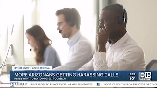 More Arizonans getting harassing phone calls