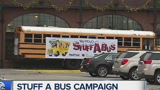 Stuff a Bus campaign launches