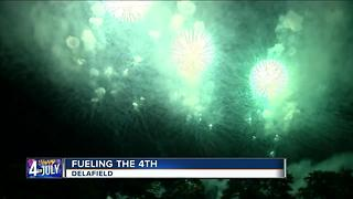 Wolverine Fireworks prepares for area firework shows - Video